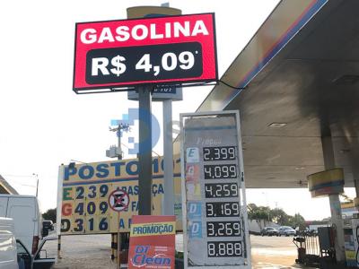 Posto de gasolina 101 Hortolândia