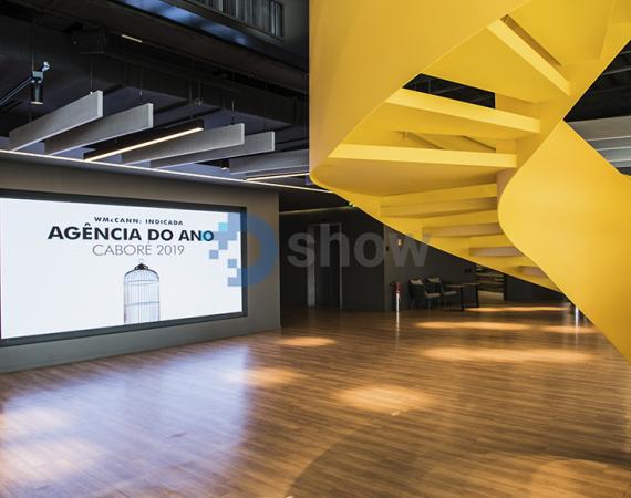 2 Painéis de LED Indoor P2.5 - 4,00m x 2,00m