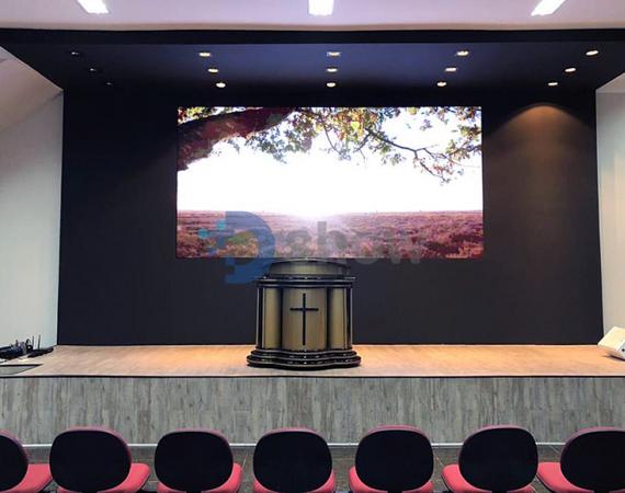 Painel de LED Indoor P4 - 4,00m x 2,00m
