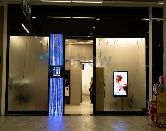Painel de LED Indoor P6 - 0,57m X 2,68m