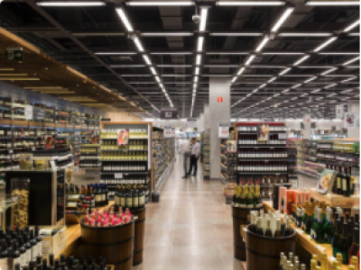 Como a tecnologia de painéis de LED pode ajudar o supermercado?